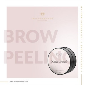 Peeling do brwi 100g